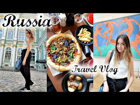 Russia Travel Vlog // Winter Palace St. Petersburg