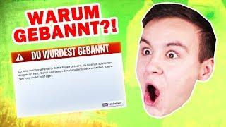 ICH WURDE GEBANNT auf YOUTUBE?! (Storytime) [Deutsch/HD]