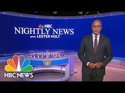 Download NBC Nightly News Full Broadcast - September 20th, 2021