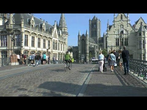 Walk Around Ghent Belgium.