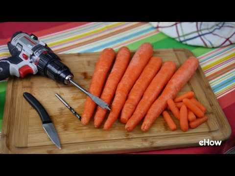 DIY Carrot Slide Whistle
