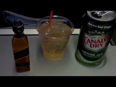 Air Canada Trip Report: Johnnie Walker Black Label Whiskey