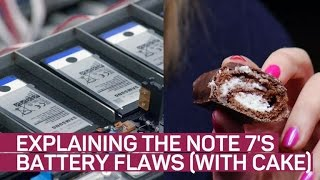 Explaining the Note 7s battery flaws (with cake)