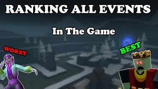 RANKING All EVENTS From WORST To BEST    Tower Defense Simulator