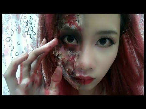 Halloween Makeup - Hóa Trang Thành Zombie Cực Dễ | Yêu Làm Đẹp