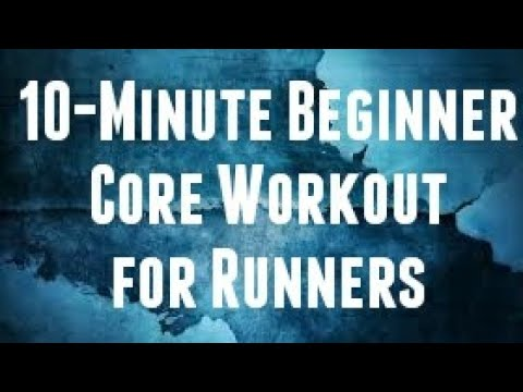 10-MINUTE BEGINNER CORE WORKOUT FOR RUNNERS✔