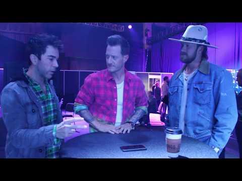 Ty Bentli Backstage with Florida Georgia Line - 2018 CMA Awards Rehearsals