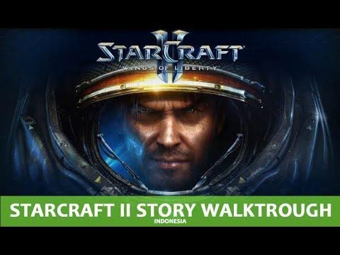 Starcraft 2 Indonesia Wings Of Liberty Part 1 walktrough story