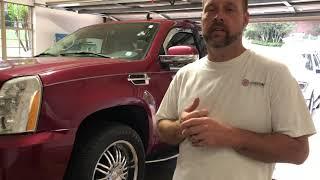 2007 - 2014 Cadillac Escalade broken shift cable repair.