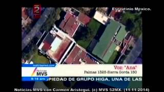 Televisa le da a Angélica Rivera propiedad atrás de la casa Blanca de Enrique Peña Nieto.