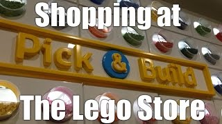 Shopping at The Lego Store - Daily VLOG #309 (Nov 21/15)