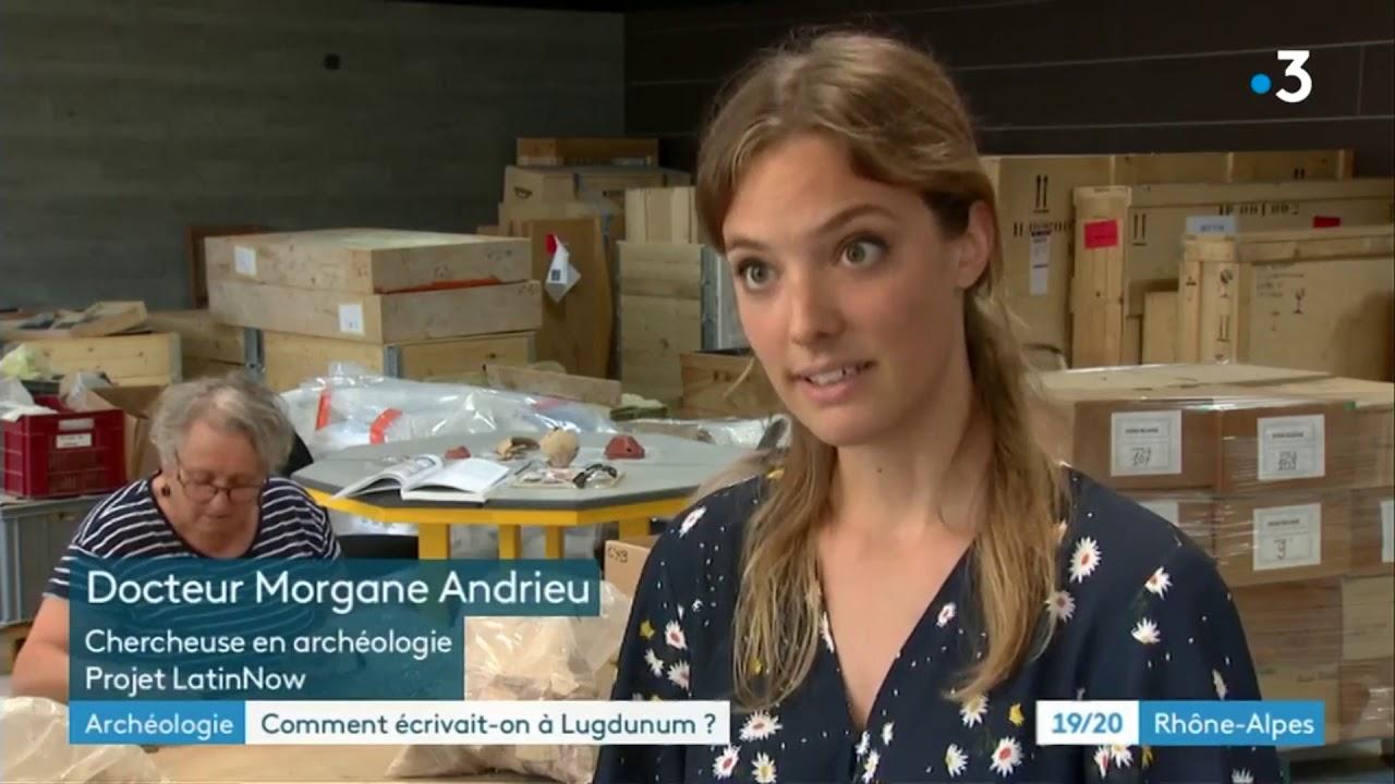 France 3 bulletin: Morgane Andrieu (LatinNow) and the graffiti of Lugdunum