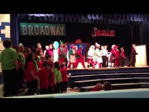 Broadway Santa - December 2012 LMDS 3rd Grade Play