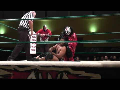 The Main Event: Elimination 3-Way Tag Match - 26 April 2016