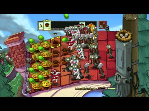 Plants vs. Zombies (PS3) - Mini-Games - Column Like You See 'Em (eaten by zombies) (2011-07-10)