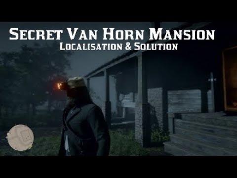 Red Dead Redemption 2 - Secret Van Horn Mansion / Localisation & Solution
