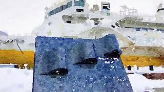津輕海峽冬景色 つがるかいきょう・ふゆげしき