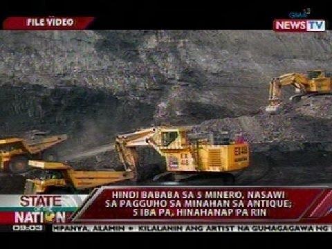 SONA: Pagguho Sa Semirara Mining: 5 Patay, 5 Nawawala
