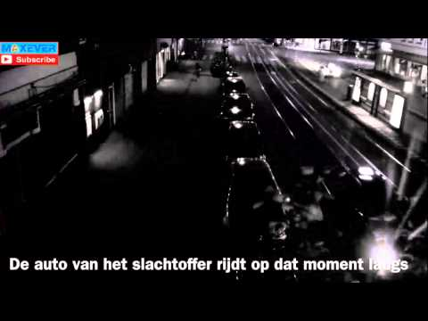 Execution in Amsterdam, The Netherlands, with full auto Kalashnikov ~ terrible scene