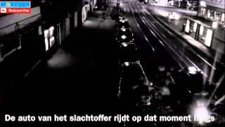 Execution in Amsterdam, The Netherlands, with full auto Kalashnikov ~ terrible scene