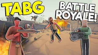 TOTALLY ACCURATE BATTLE ROYALE SIMULATOR! - Totally Accurate Battlegrounds Gameplay - TABG Game
