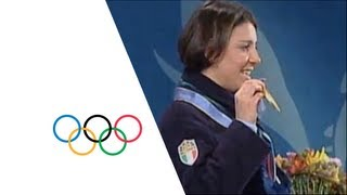 Deborah Compagnoni Wins Giant Slalom Gold - Nagano 1998 Winter Olympics