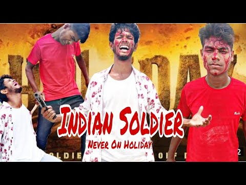 Download Indian Soldier Never on Holiday Best Action Scene | vijoy and vidyut action fight scene | group 786.