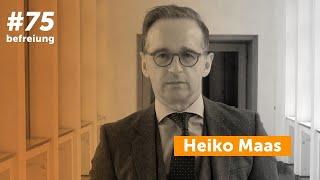 Heiko maas, german foreign minister, #75liberation (eng. subs)