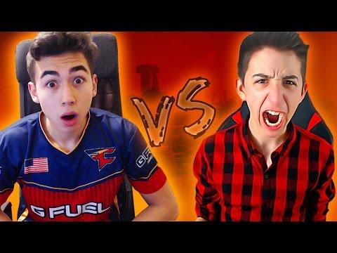 FAZE ATTACH 1v1 vs GOORGO!!