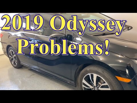 2019 Honda Odyssey problems Owner's Review update