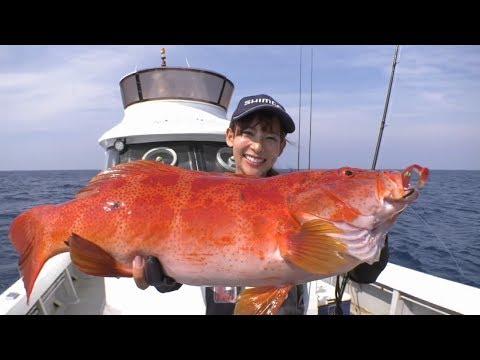 【釣り百景】#256 薩摩硫黄島・魅惑のロックフィッシュ