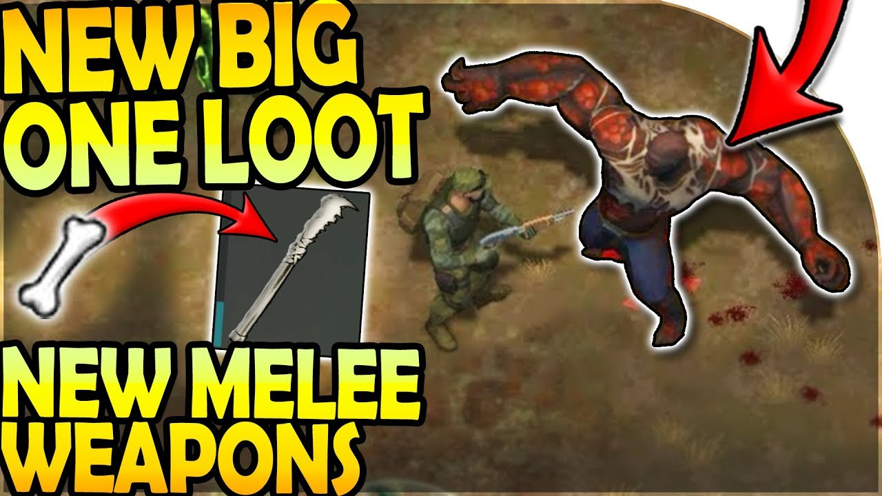 NEW BIG ONE LOOT - NEW MELEE WEAPONS in WEAPON UPDATE ...