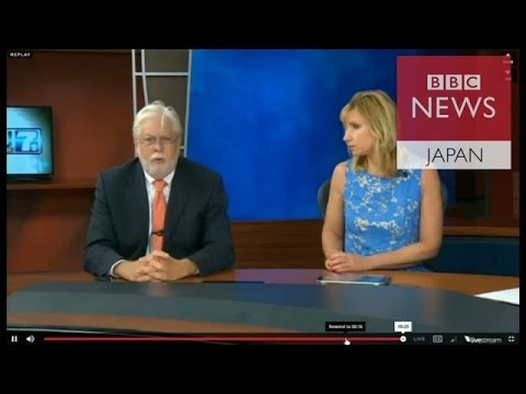 【BBC】 生中継中に記者ら銃撃で死亡 米テレビ局が放送で発表