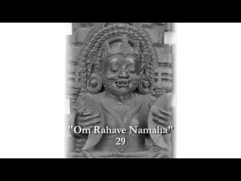 Мантра Раху - Ом Рахаве Намаха