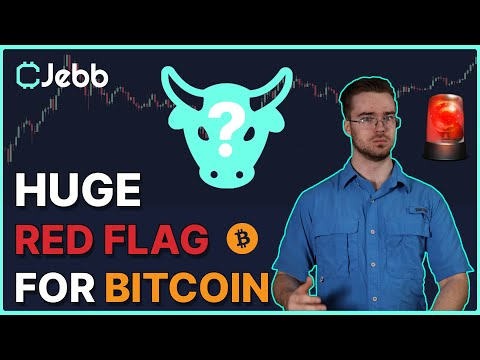 HUGE RED FLAG FOR THE BITCOIN RALLY!!! - WATCH THIS INDICATOR - IT CALLS FOR CORRECTION!