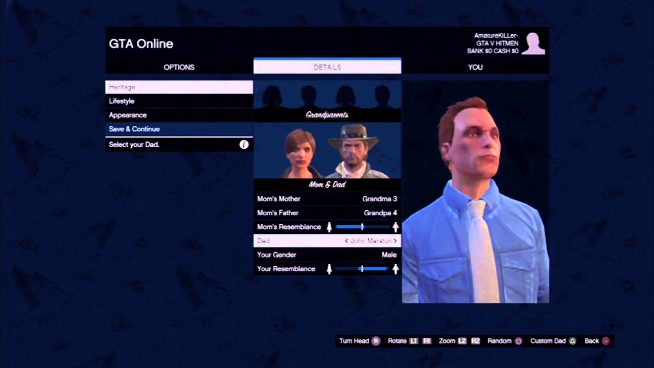 Gta v online best character attributes stats set up youtube voltagebd