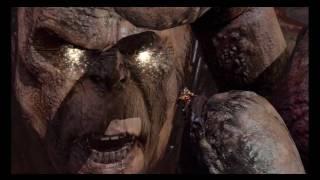 God of War 3 - Kratos vs Cronos Boss Battle Pt 1 (HD)
