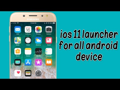 Ios 11 launcher apk for all android device