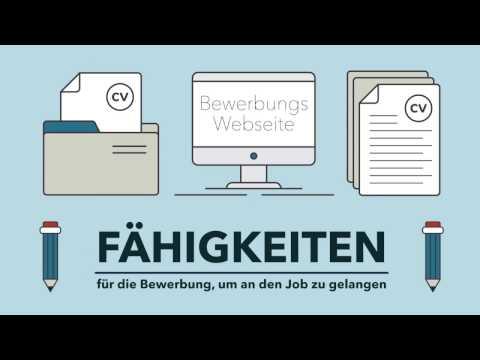 BEWERBUNGS-FÄHIGKEITEN - Überzeugend an den Job kommen
