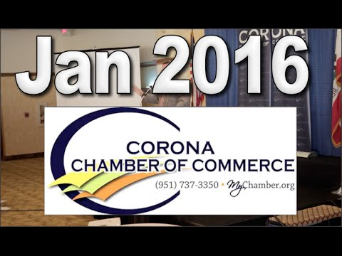 Good Morning Corona Chamber of Commerce Event Eagle Glen Jan 2016