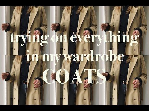 The Wardrobe Clearout | Trying On Everything I Own | Coats