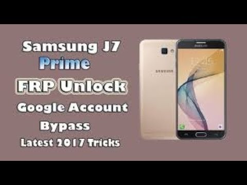 Samsung SM-G610F/DD J7 Prime Android 7 0 FRP Google Account