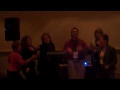 Inner Peace for CTI Coaches Singing Kareoke
