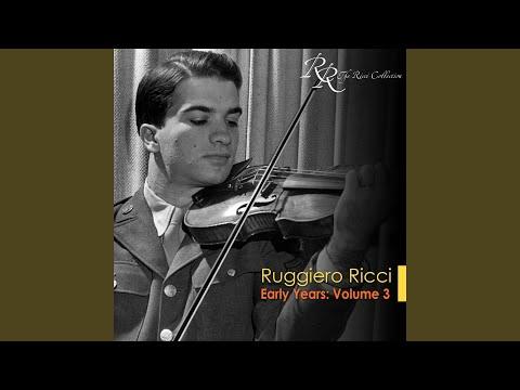 """Violin Concerto No. 2 in B minor, Op. 7: III. Rondo, """"La Campanella"""" (arr. for violin and piano)"""