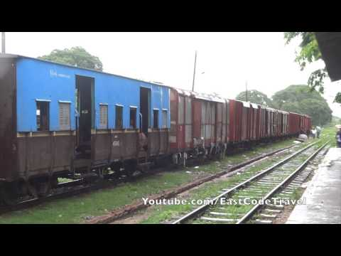 Myanmar third class train cars