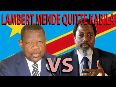 RDC: le FCC de KABILA tire sur Lambert MENDE et l'Union Sacrée de TSHISEKEDI