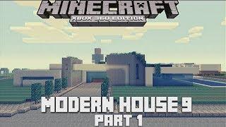 Minecraft Xbox 360  Modern House 9 Lets Build part 1