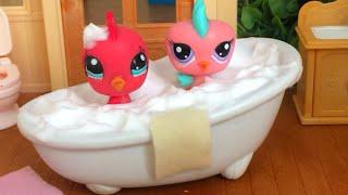 Pasaklı Minişler Banyo'da 🛁