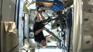 Working Out Aboard the Space Station