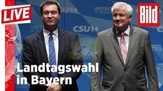 🔴 BILD Live: Die aktuellen Entwicklungen zur Landtagswahl in Bayern